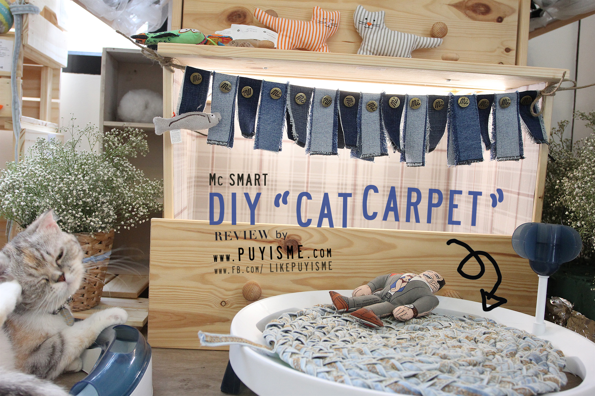 DIY Cat Carpet 04